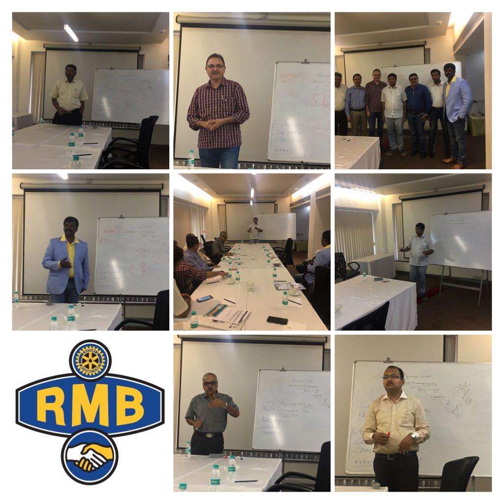 RMB Numero Uno Mumbai Christmas Member Meet Rotary  District 3141